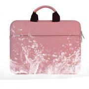Túi đựng Laptop da lộn bền rẻ đẹp sang trọng màu hồng 13 inch 2