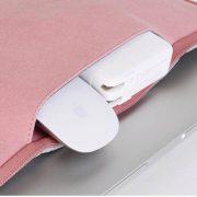 Túi đựng Laptop da lộn bền rẻ đẹp sang trọng màu hồng 13 inch 6