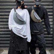 Túi bầu đeo chéo phối thổ cẩm 5