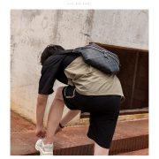 Túi dạ dày đeo chéo họa tiết LV 4