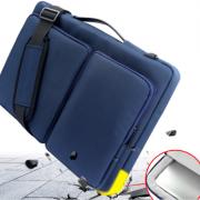 Túi đựng Laptop 3 ngăn lót bông mềm chống sốc – Xanh 2