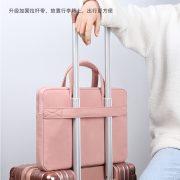 Túi đựng Laptop Hồng Basic 3